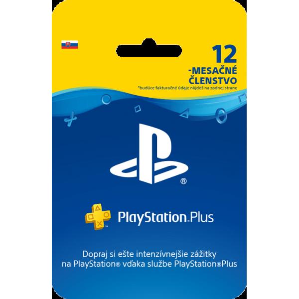 SONY PlayStation Plus Card 365 dní/SK
