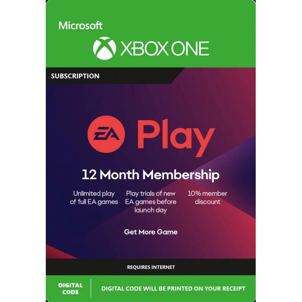 EA Play Xbox 12 mesiacov