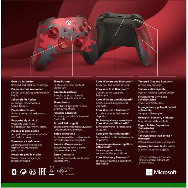Xbox Series Wireless Controller Daystrike Camo
