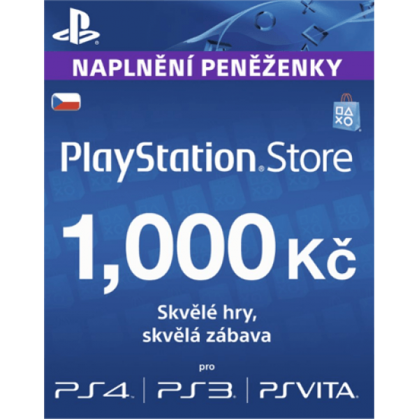 PlayStation Live Card 1000 Kc
