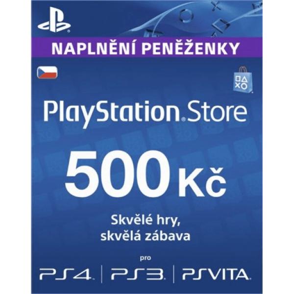 PlayStation Live Card 500 Kc