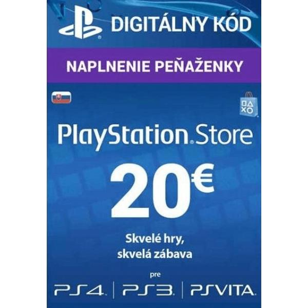 PlayStation Live Card 20 EUR