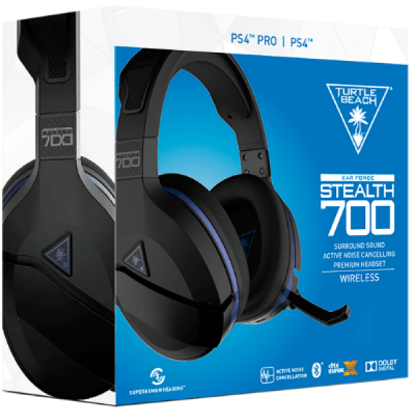 Turtle Beach Stealth 700 Premium Wireless Surround Sound Gaming Headset (PS4/PS5)