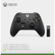 Xbox Series Wireless Controller Carbon Black + Windows 10 adapter